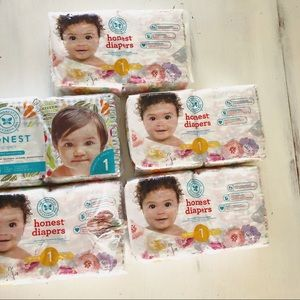 Other - HONEST DIAPERS SIZE 1 — 5 packs